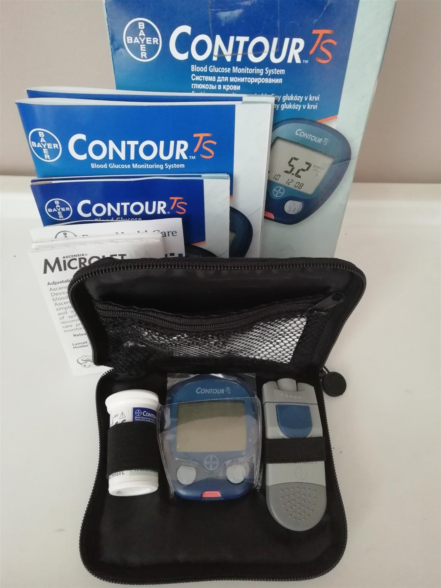 CareSens II and Contour TS blood glucose meters