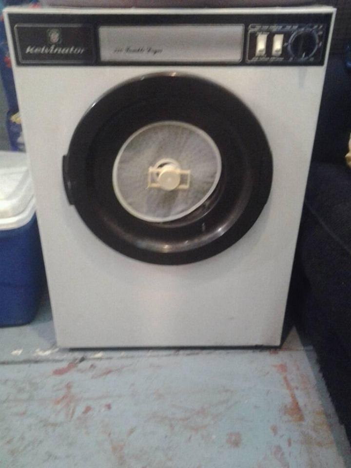 Tumble dryer has to go now