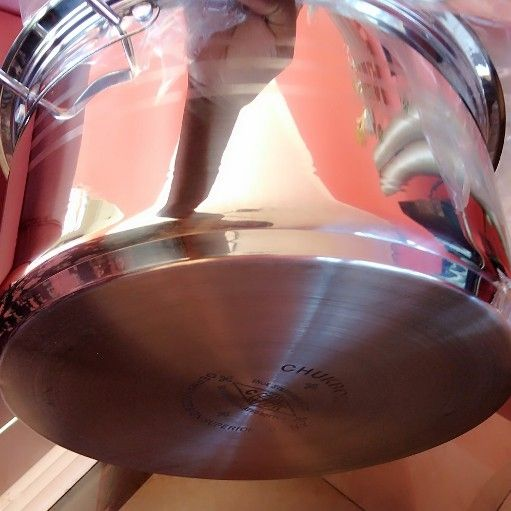 stainless steel pots brand new very strong pots
