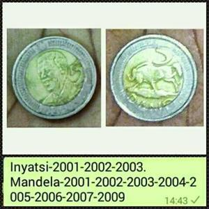 R5 MANDELA COINS WANTED