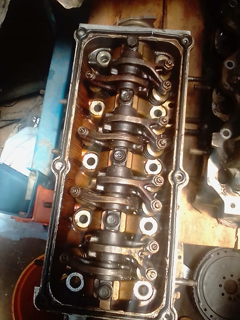 KIA PICANTO COMPLETE CYLINDER HEAD