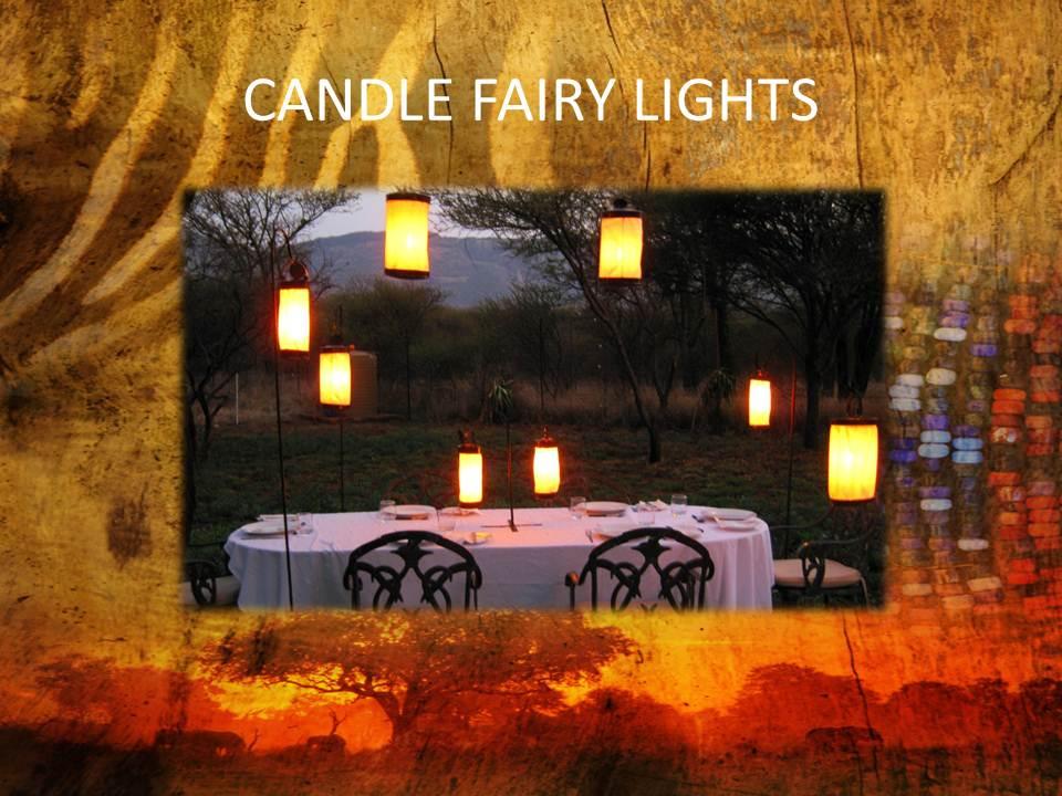 Unique  handmade Candle lights