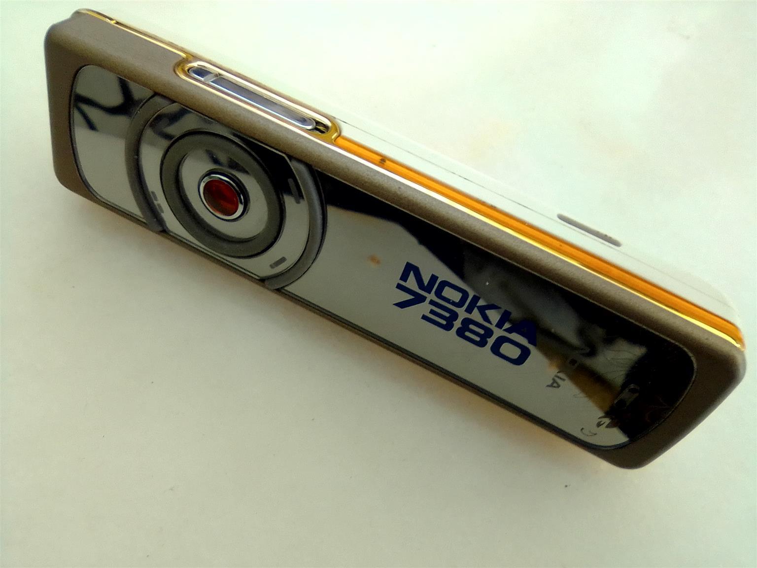 Nokia 7380 Gold