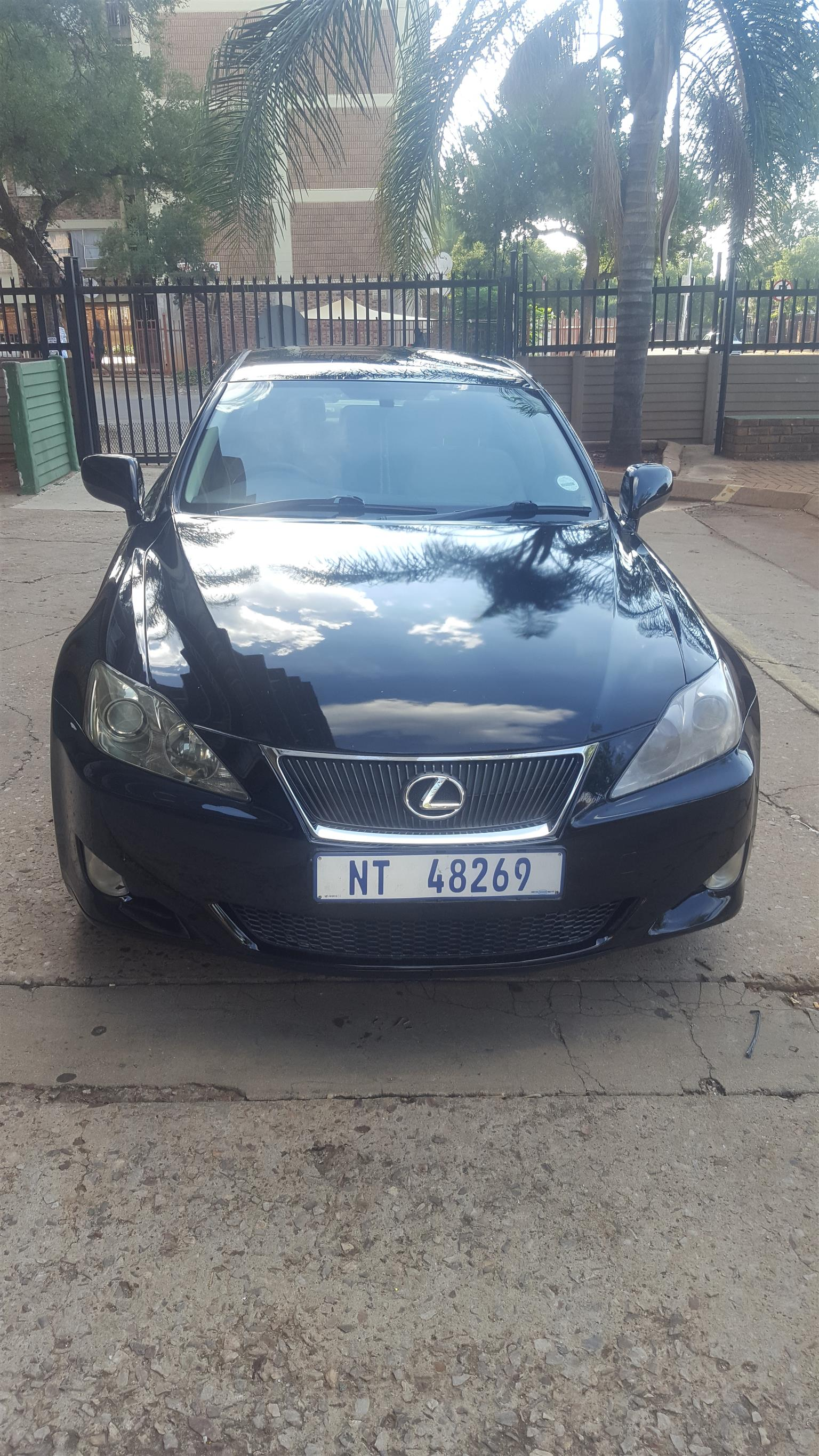 2006 Lexus IS 250 automatic  3a83bb15212