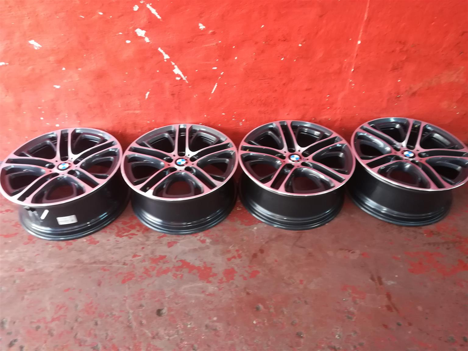 BMW MAG RIMS FOR SALE. 20INCH