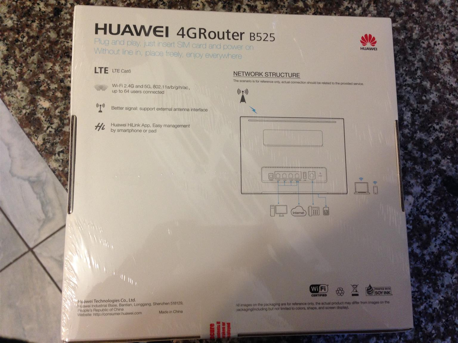 Brand New Huawei 4G Router B525s-65a for Sale