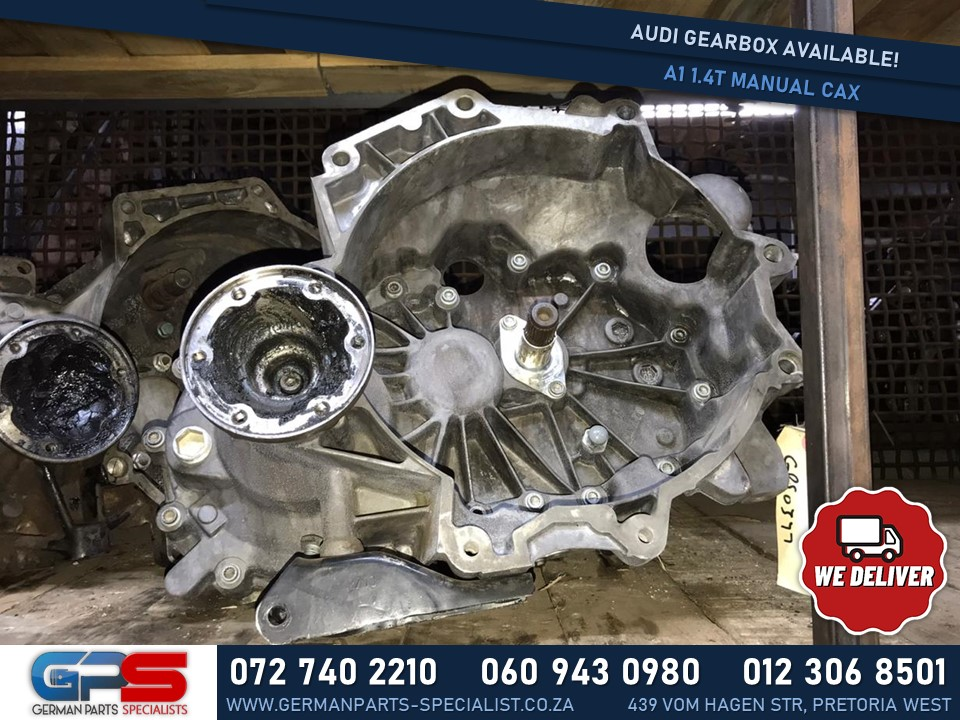 Audi A1 1.4T CAX Manual Used Gearbox