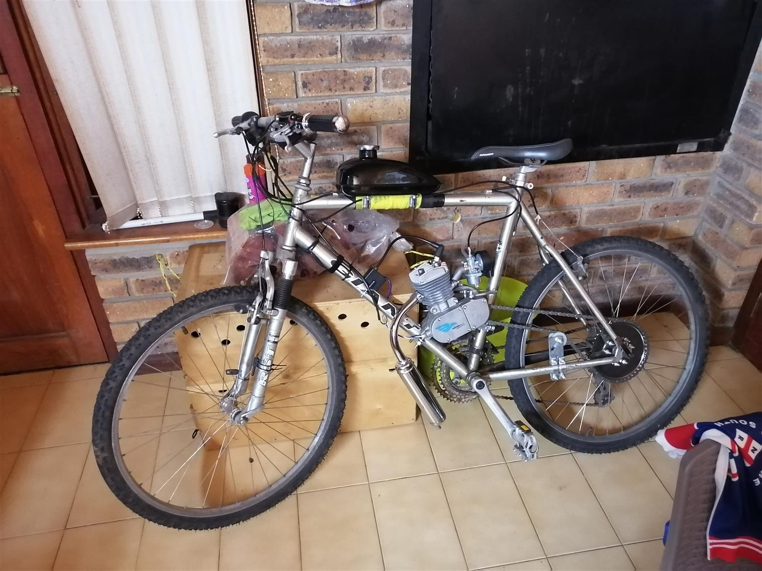 Help my trap fiets met engjin