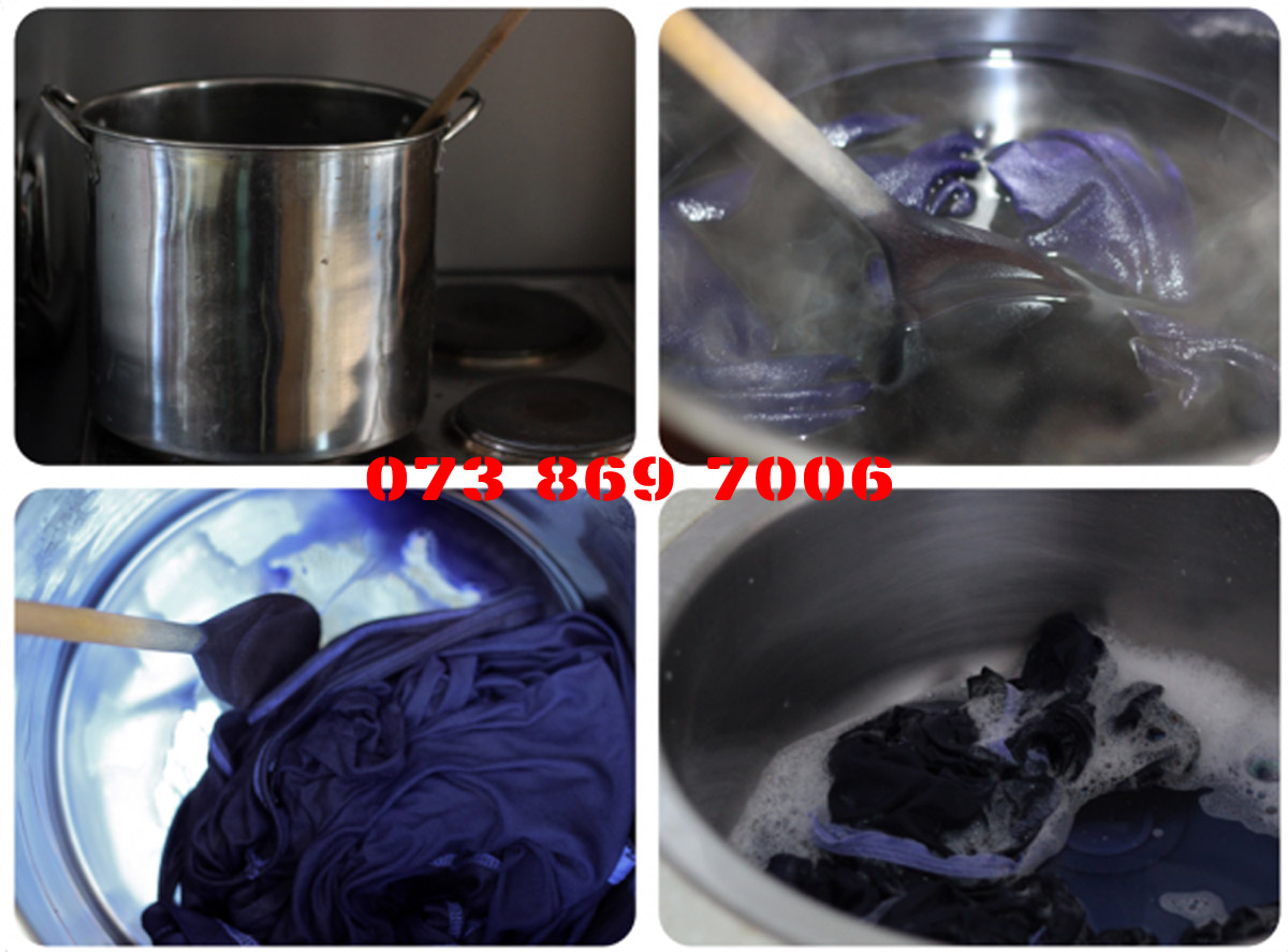 CLOTHES DyePowder - Black AND Navy Blue