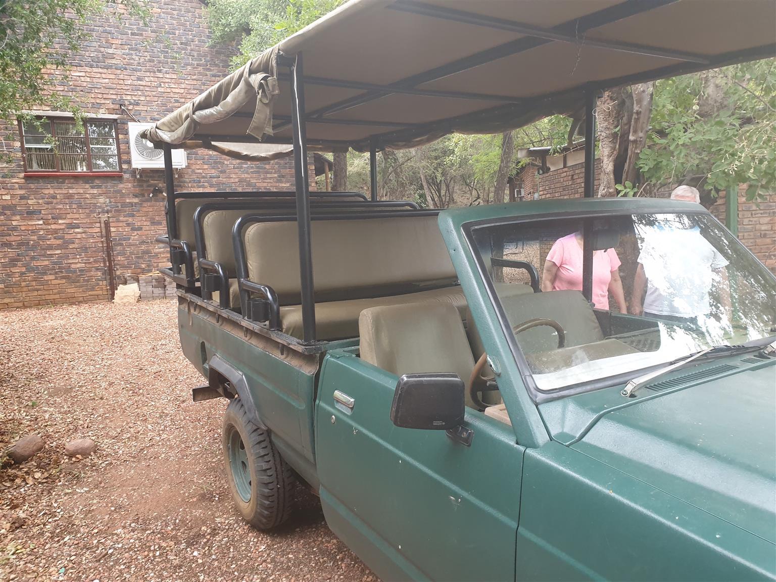 Gameviewer safari vehicle wildsvoertuig