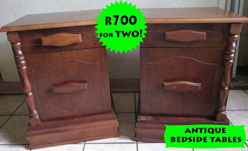 Hedendaags Antique bedside tables | Junk Mail KZ-67