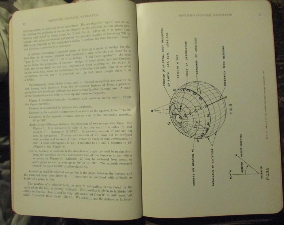 Simplified Celestial Navigation 1940