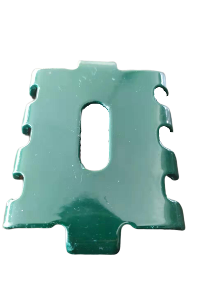 ClearVu Posts PVC Coated Green 60 x 60 mm Height 2 5 with Bolts and Clamp