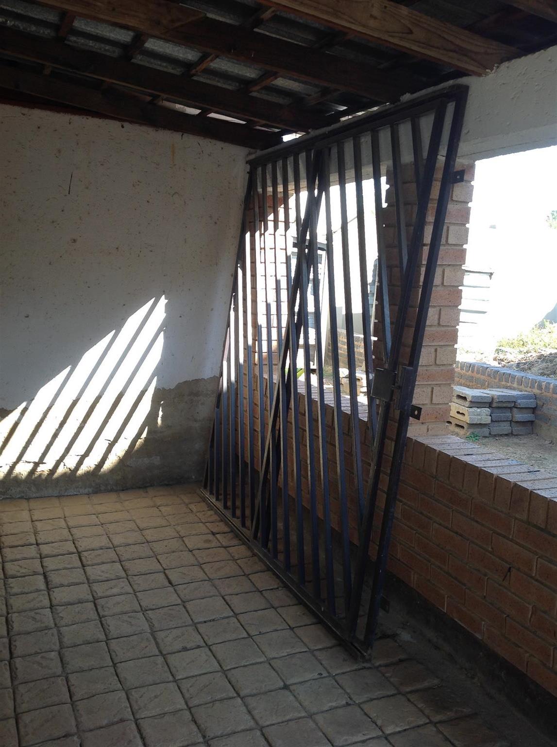 Sliding Steel Security Gate