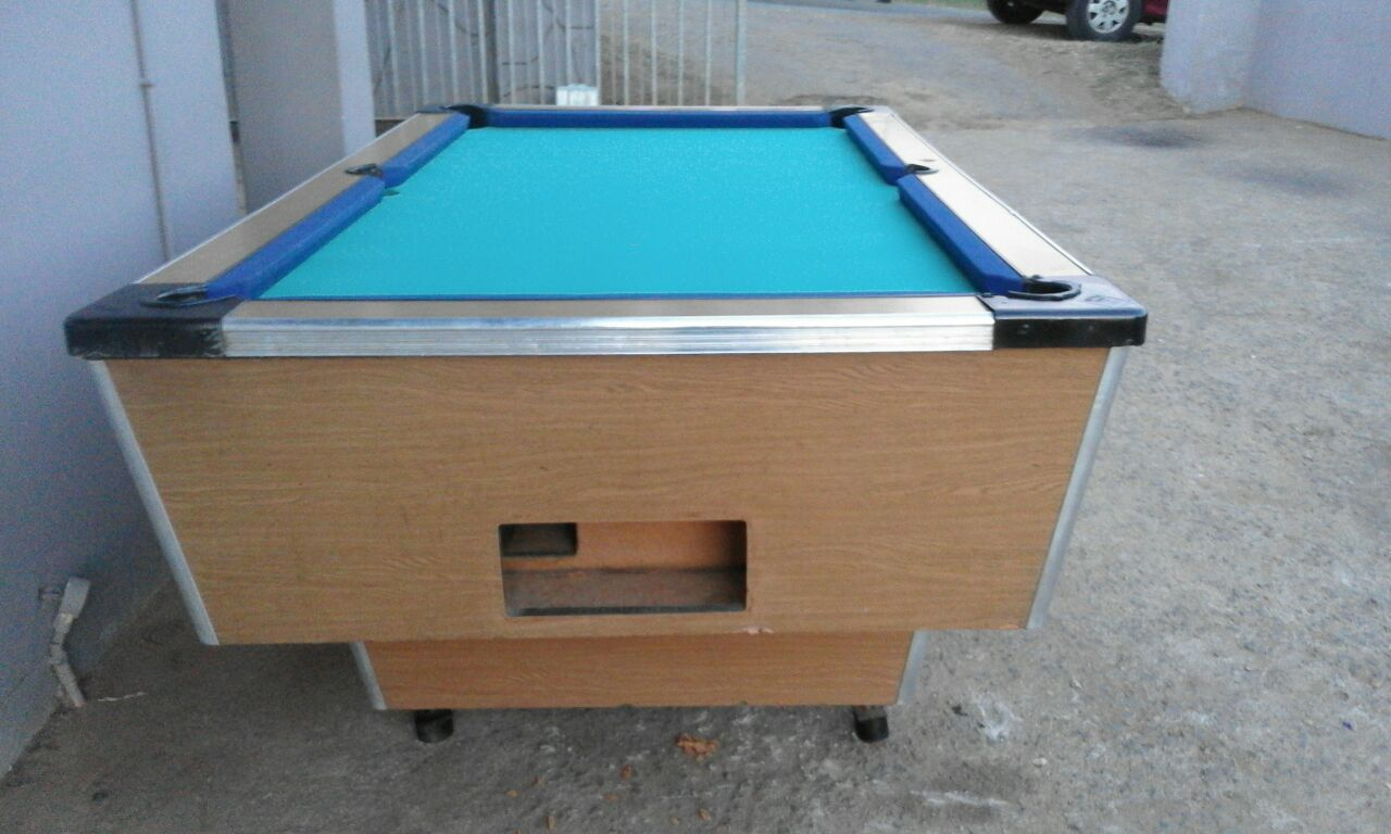 Coin Operated Pool Tables