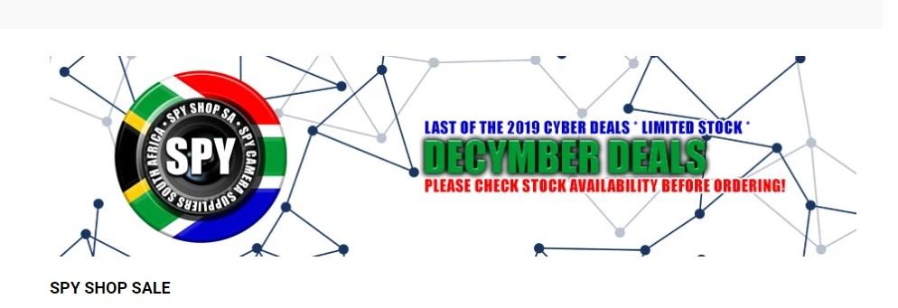 Cyber December 2019 Deals - Bossanova Speaker Spy Camera