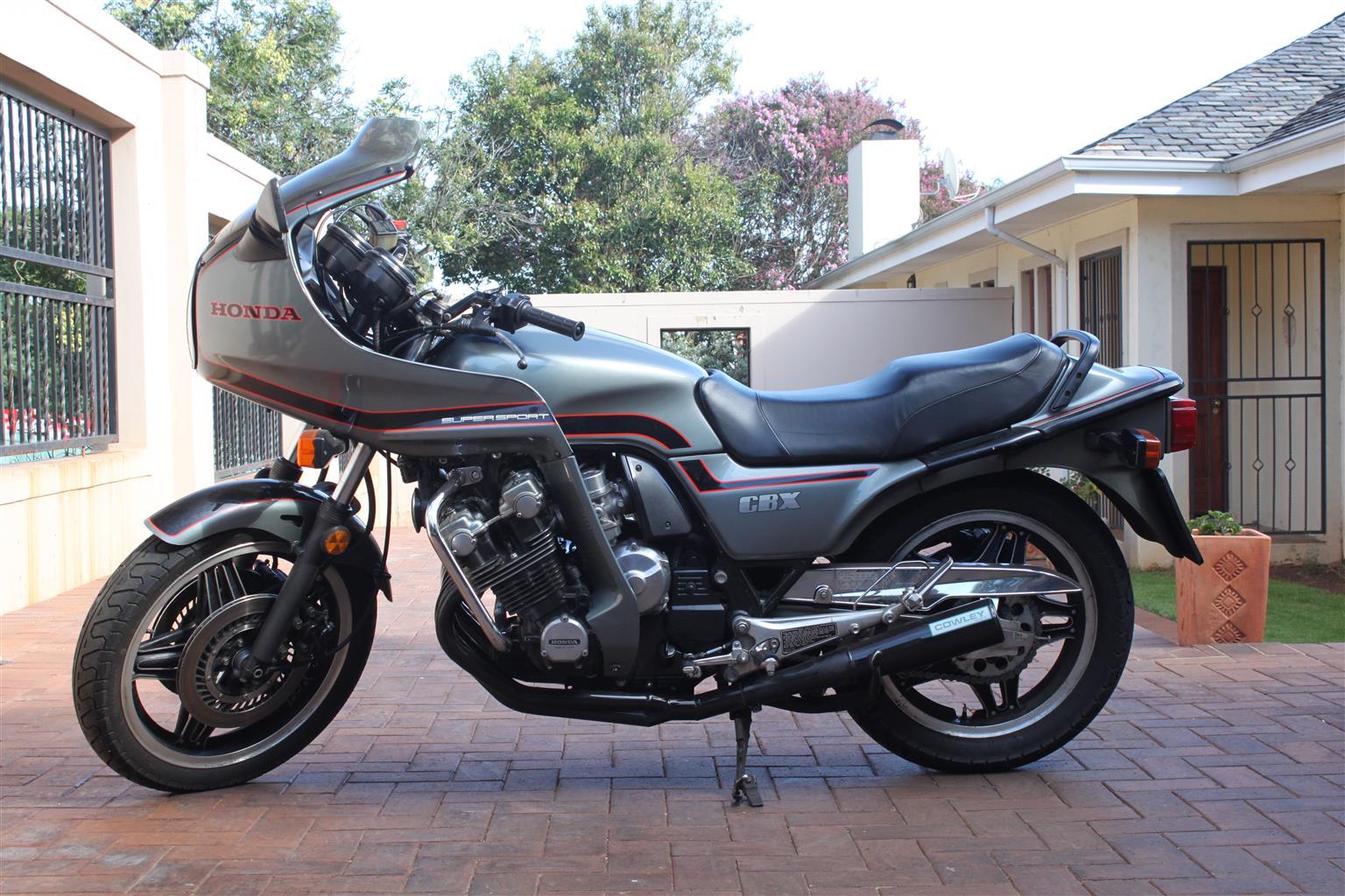 1982 Honda CBX 1000 6 cylinder