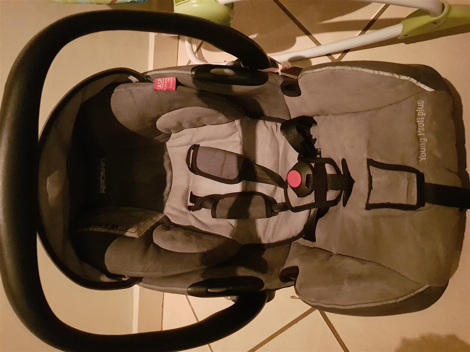 Recaro pram and car seat set