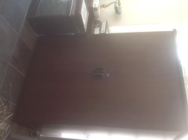Mahogany Hinge Door Systems cabinet