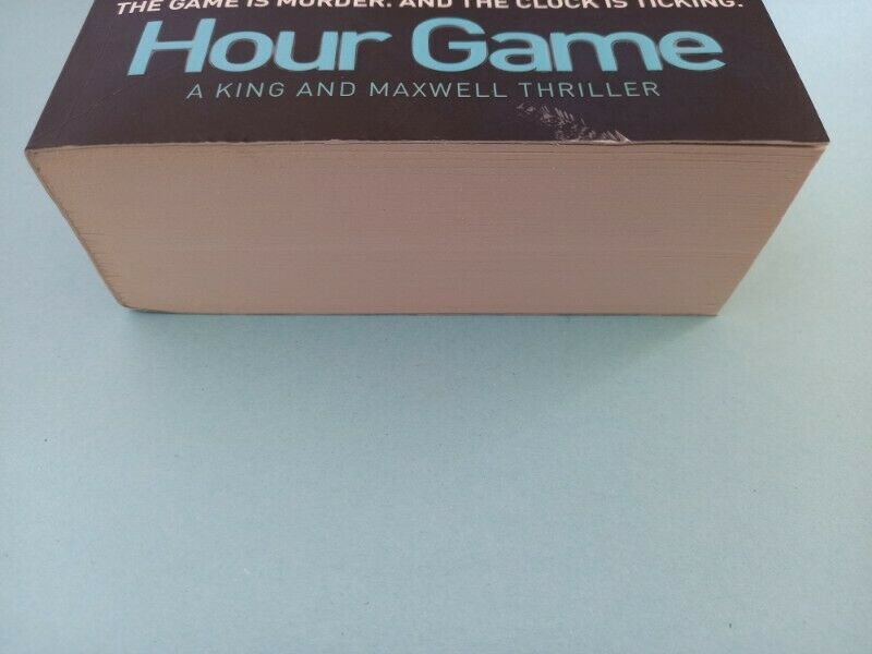 Hour Game - David Baldacci - Sean King & Michelle Maxwell #2.