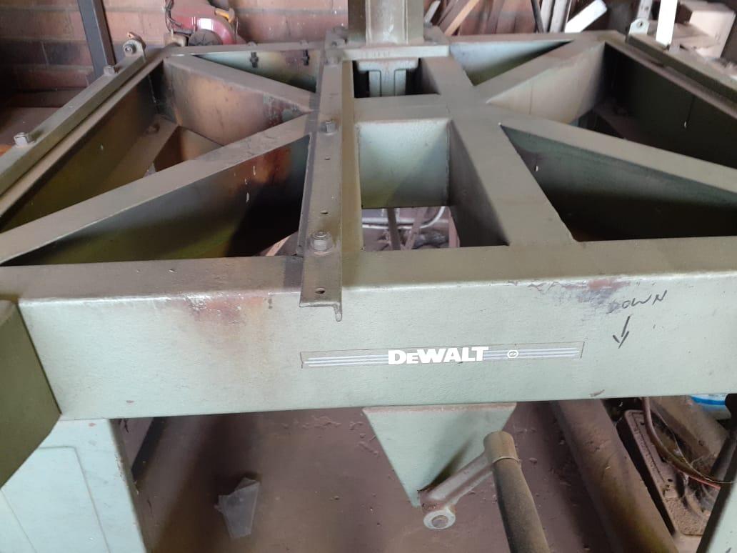 Industrial DeWalt 3 phase table saw