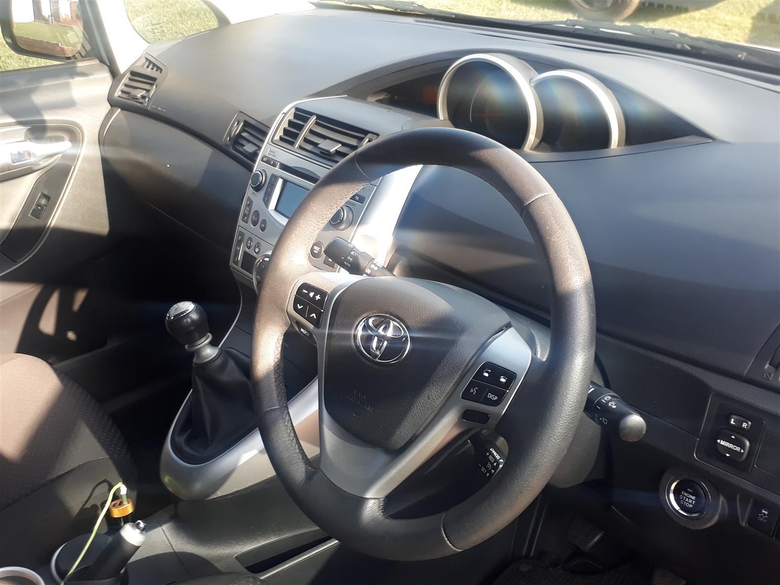 2012 Toyota Verso 1.8 TX