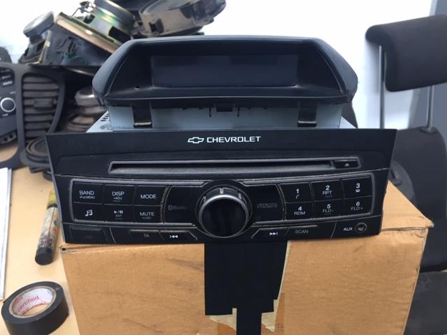 Chevrolet Utility radio