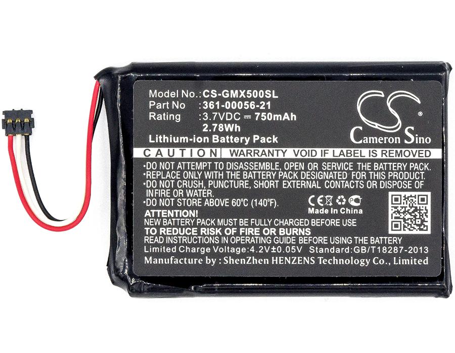 GARMIN 010-01531-00 Gps, Navigator Battery /750mAh