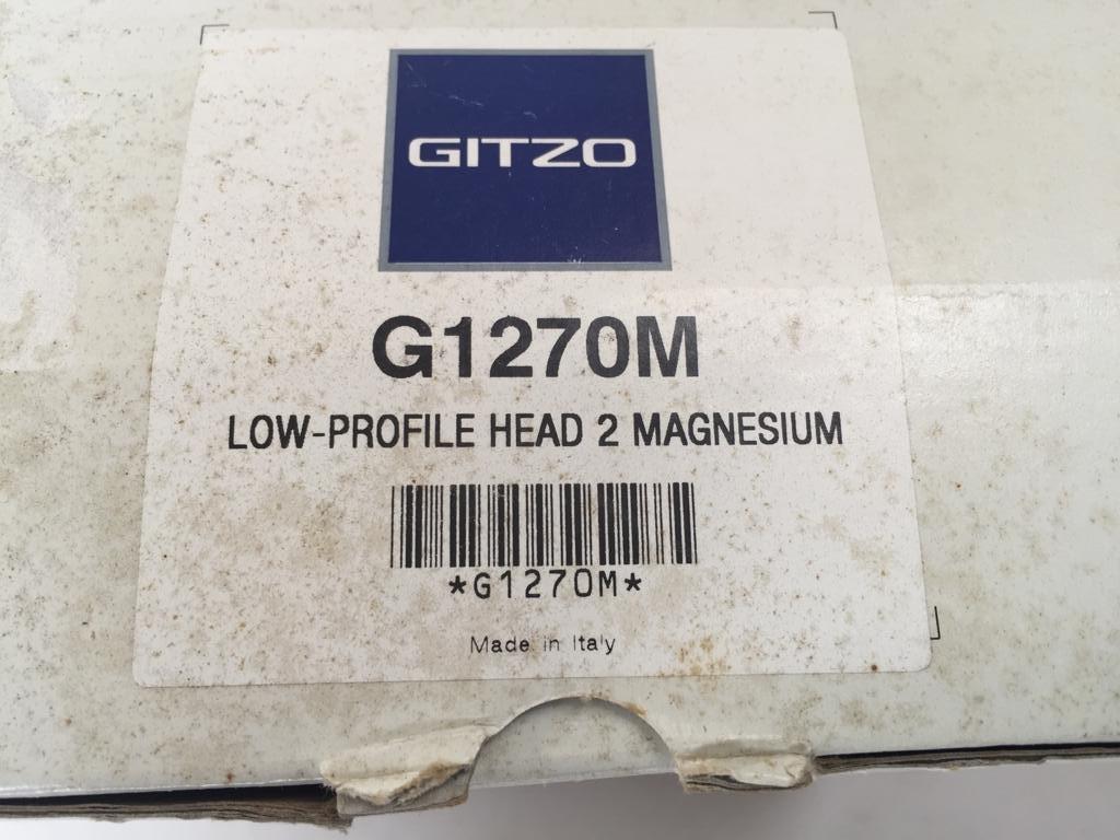 Gitzo G1270M - Low profile tripod head - the professiona's choice