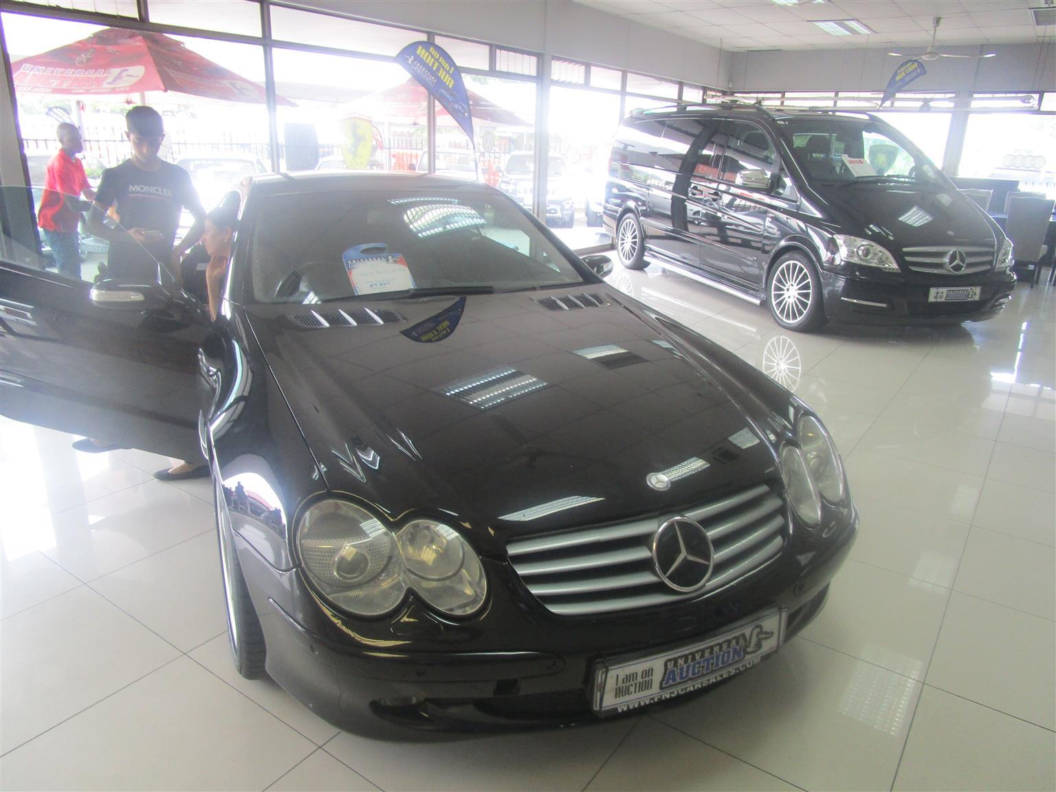 2010 Mercedes Benz SL 500
