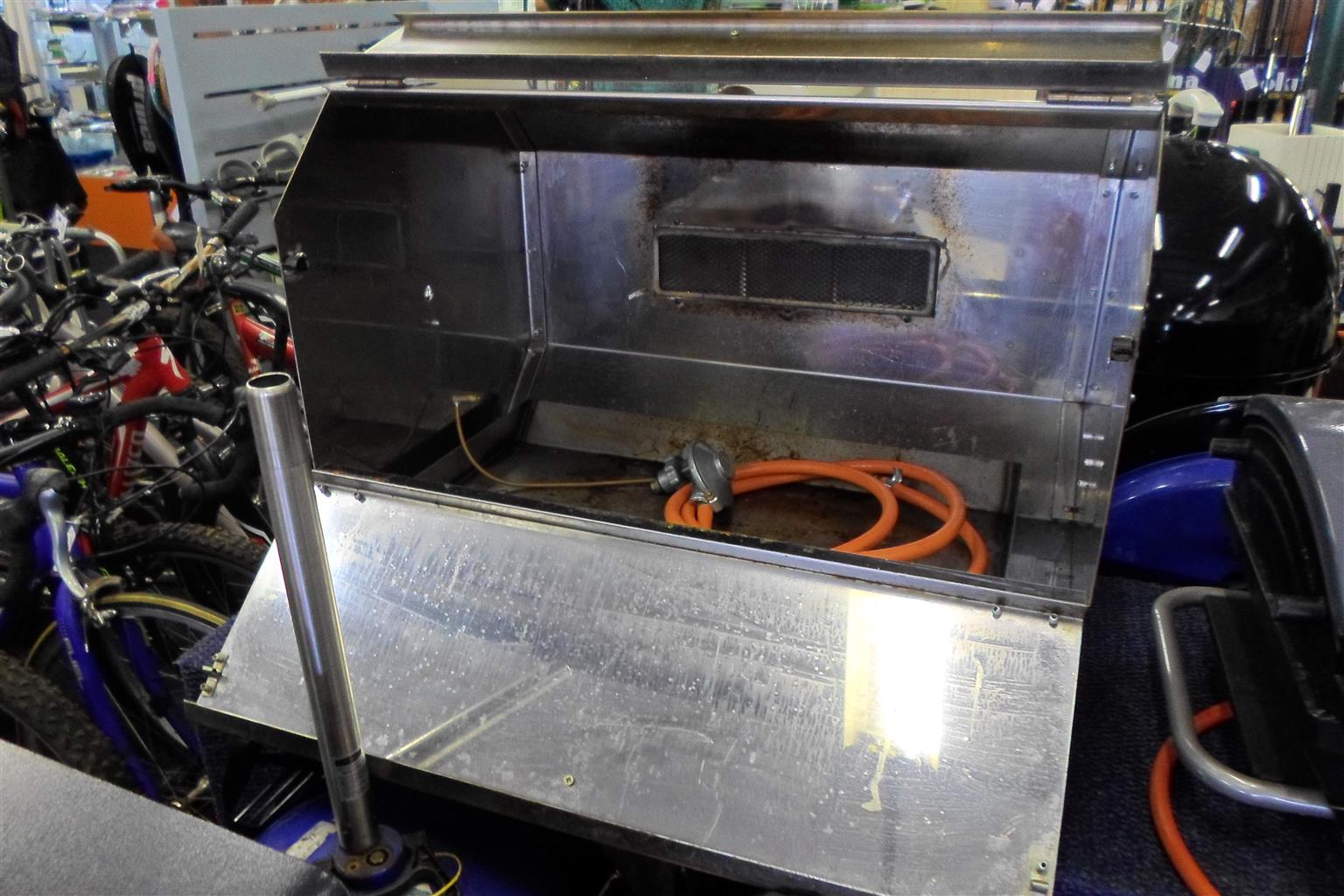 Stainless Steel Gas Rotisserie