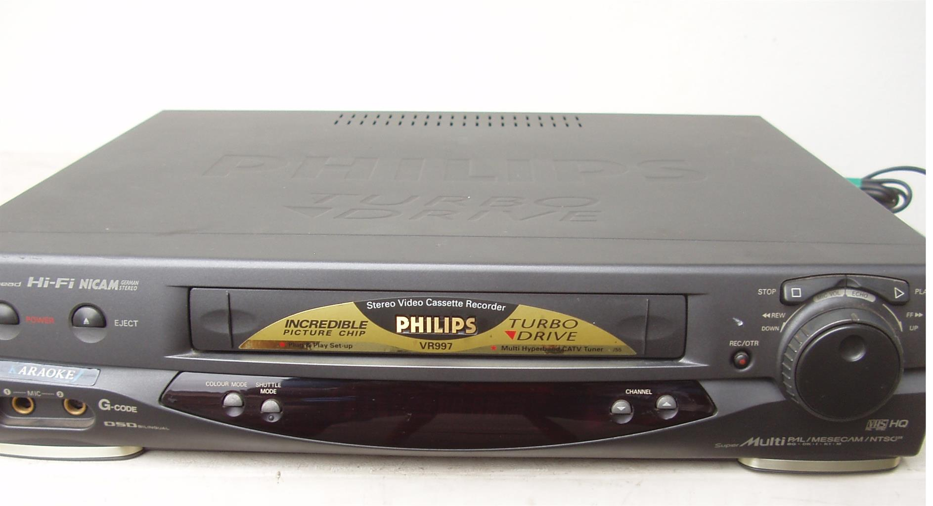 Philips VCR - Video Machine - in excellent condition
