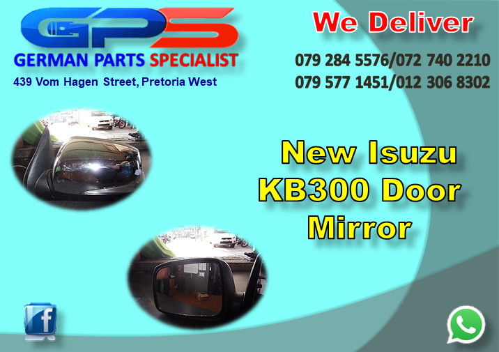 New Isuzu KB300 Door Mirror for Sale