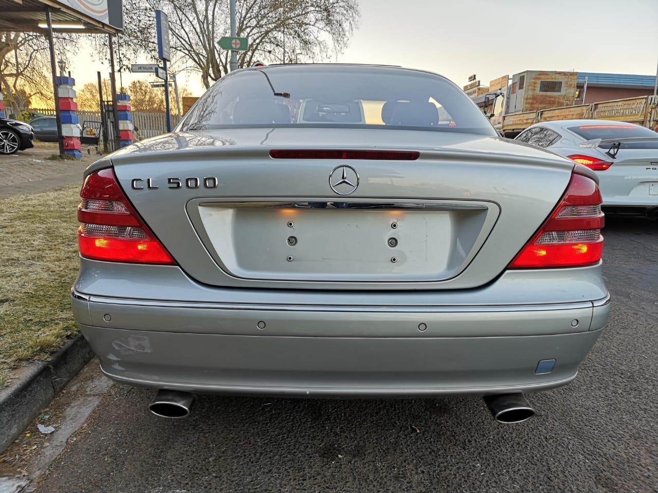 2000 Mercedes Benz Cl 500