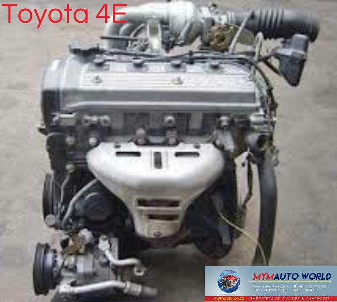 Imported used TOYOTA COROLLA 1.3L  TURBO, 4E TURBO engine Complete