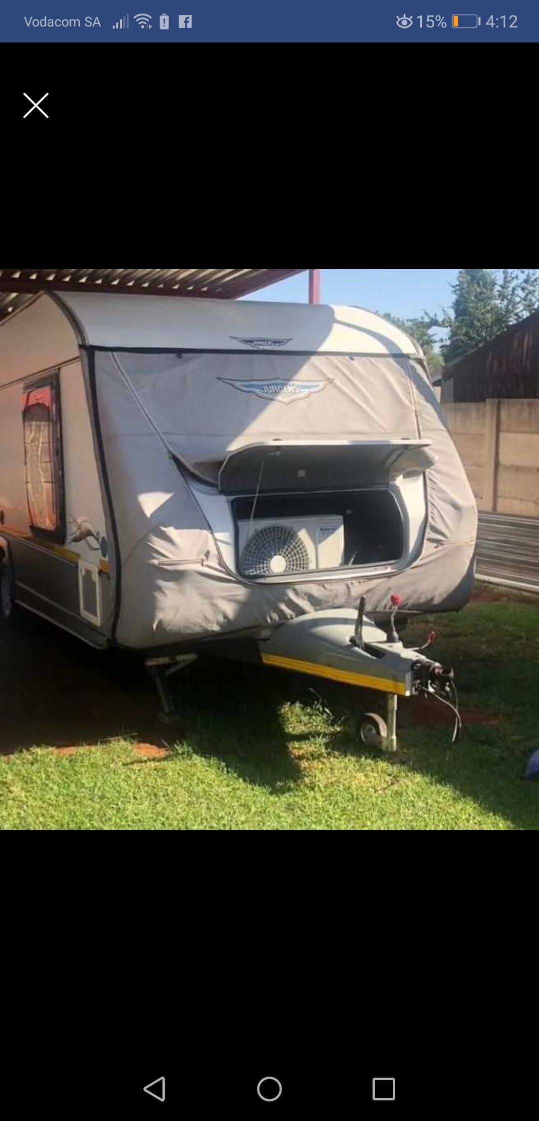 Jurgens Exclusive Double Wheel Caravan