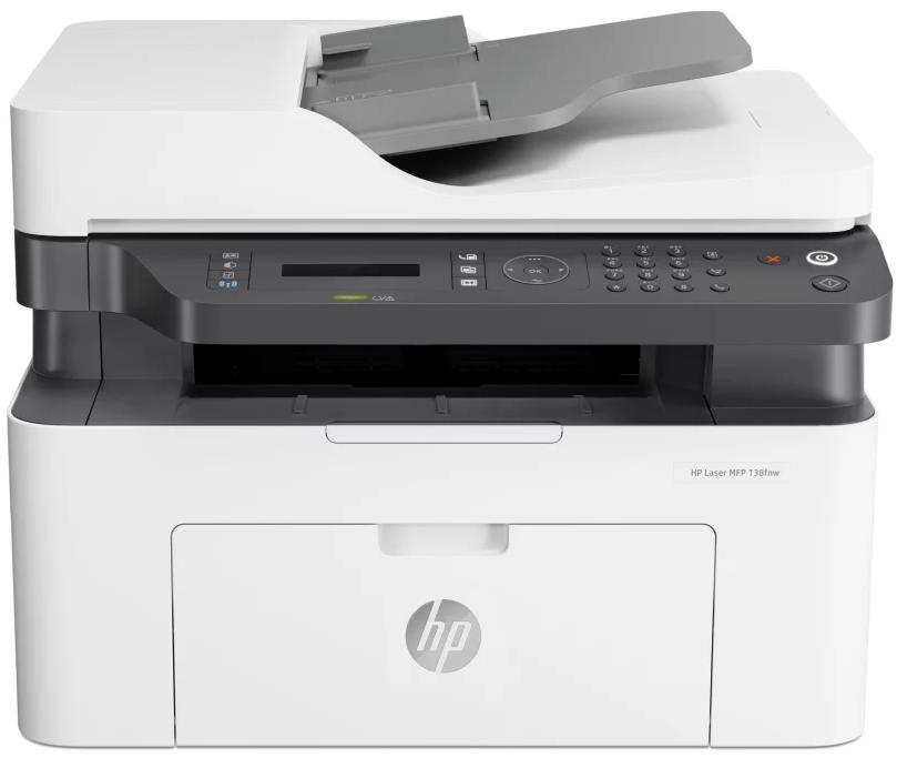 HP LaserJet Pro Printer M137fnw - Multi Function Mono - 4ZB84A