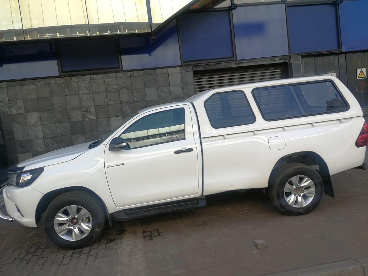2018 Toyota Hilux 2.4GD 6 4x4 SRX