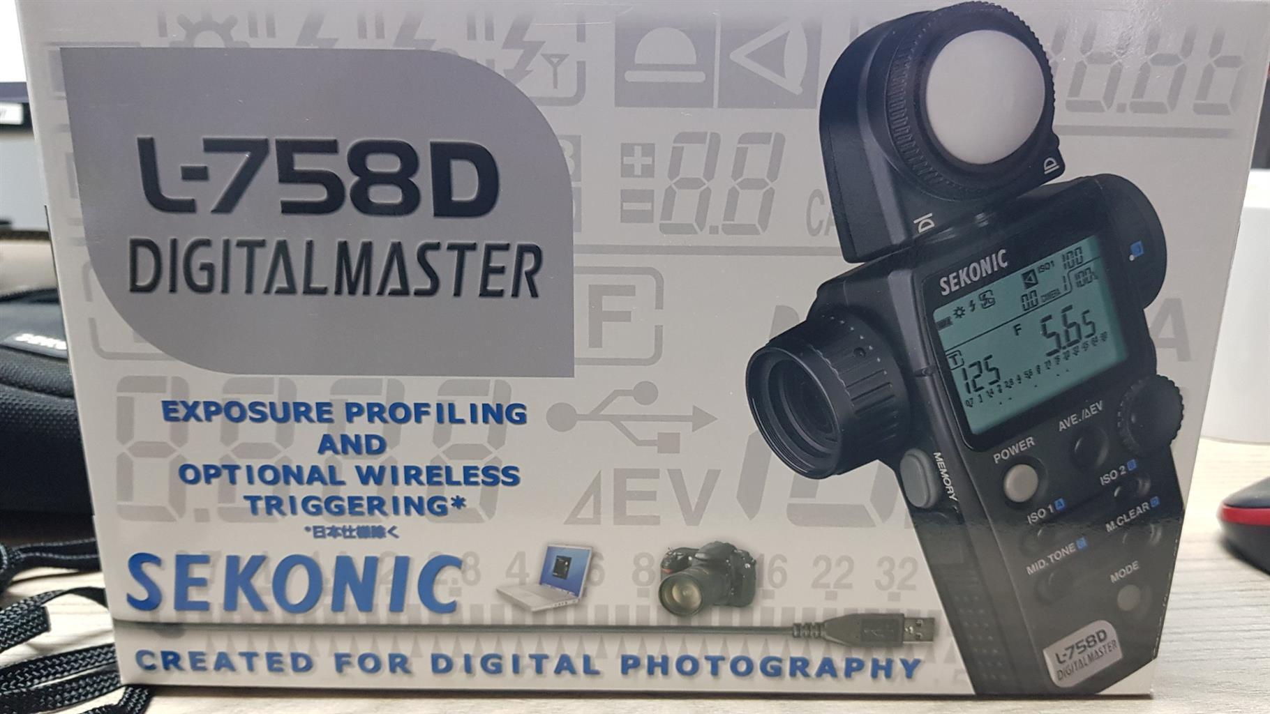 Sekonic L-758D Light Meter