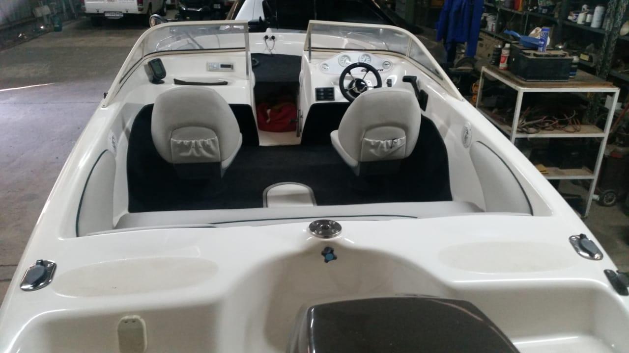Viking Carrera with 90 hp Mercury