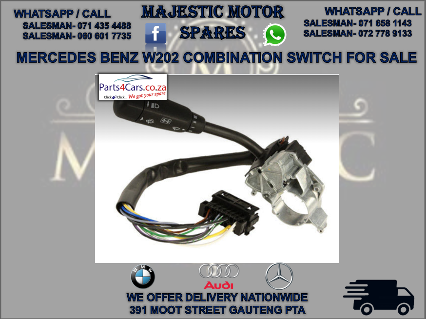 Mercedes benz W202 combination switch for sale