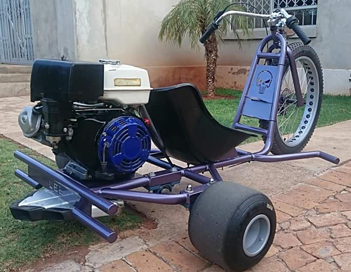 ONE OF A KIND FUN TOY, HONDA 389CC DRIFT TRIKE FOR SALE