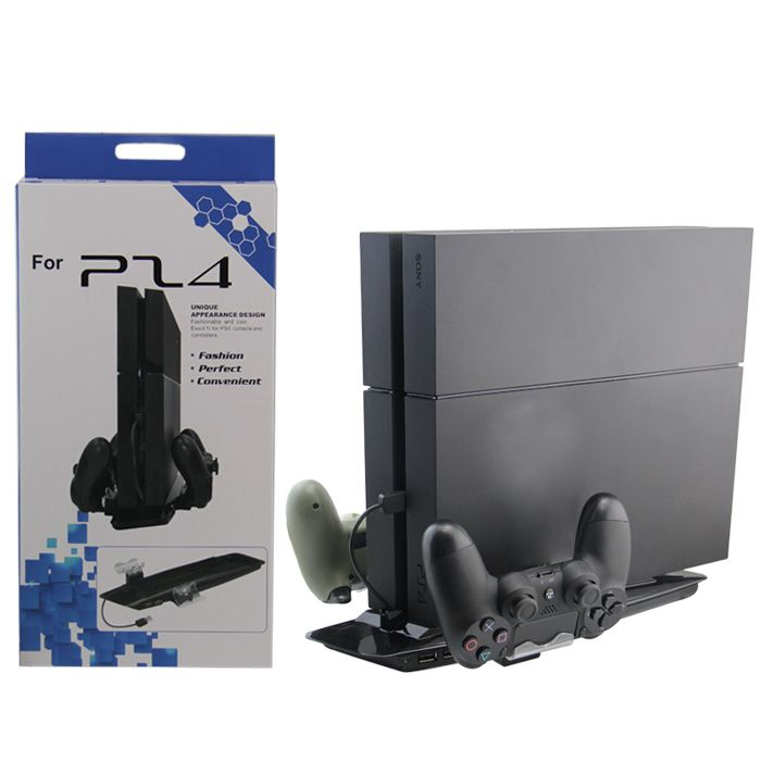 ROKY Ps4 Pro Console Charging Stand With Cooling Fan