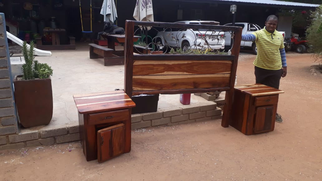 Kopstuk masies - sleeper hout
