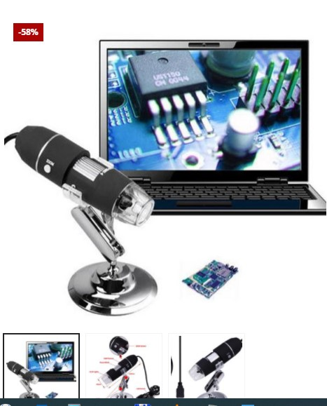 Mini Microscope Camera 500