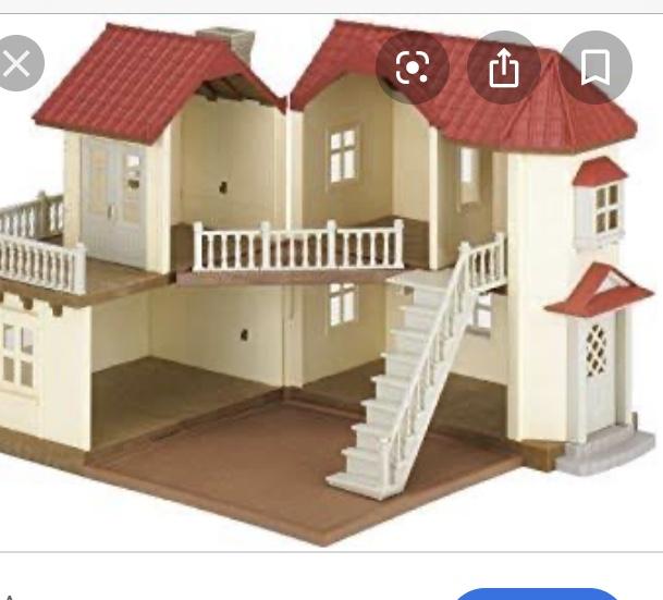 Two Sylvanian Family Houses