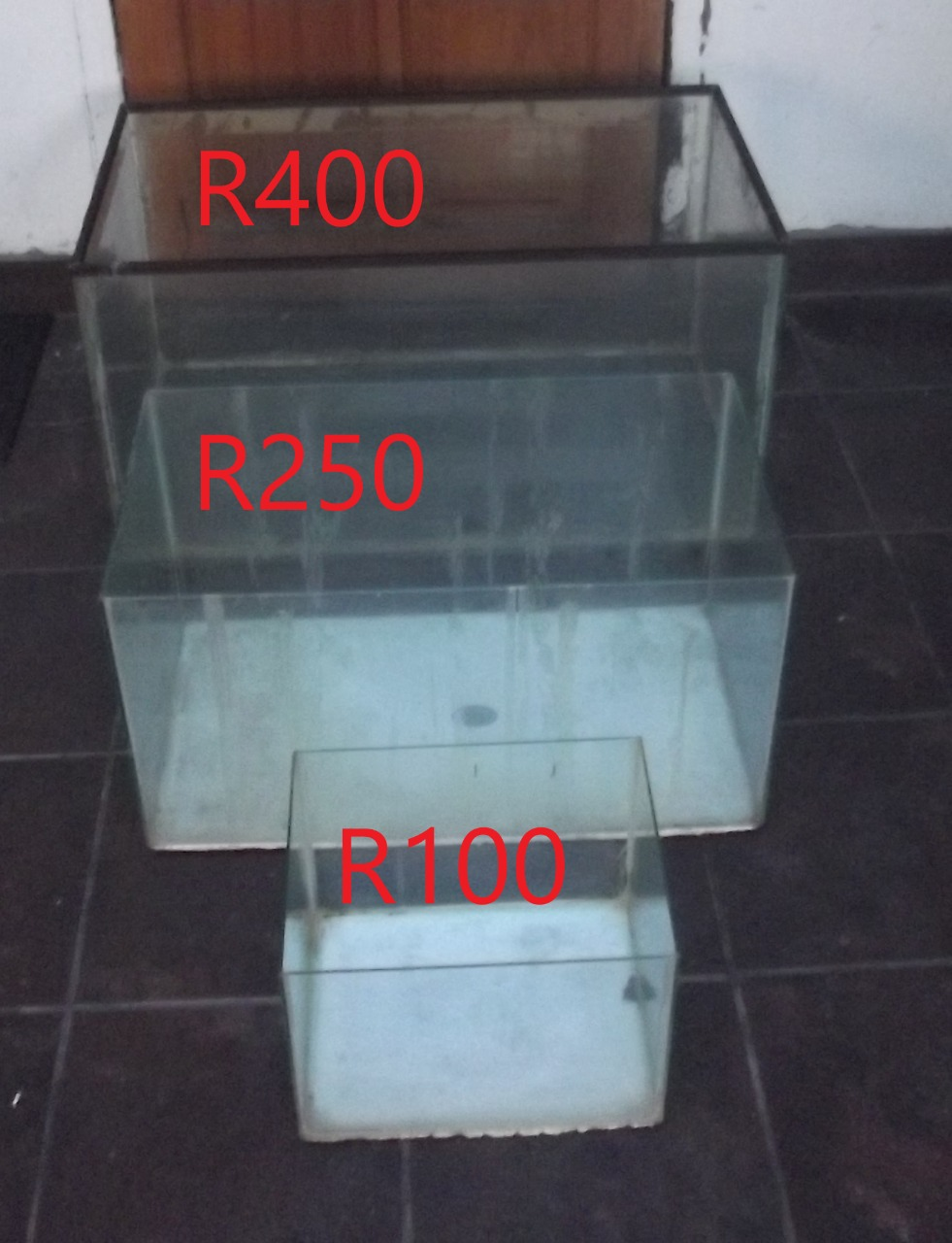 3 Fish Tanks for Sale