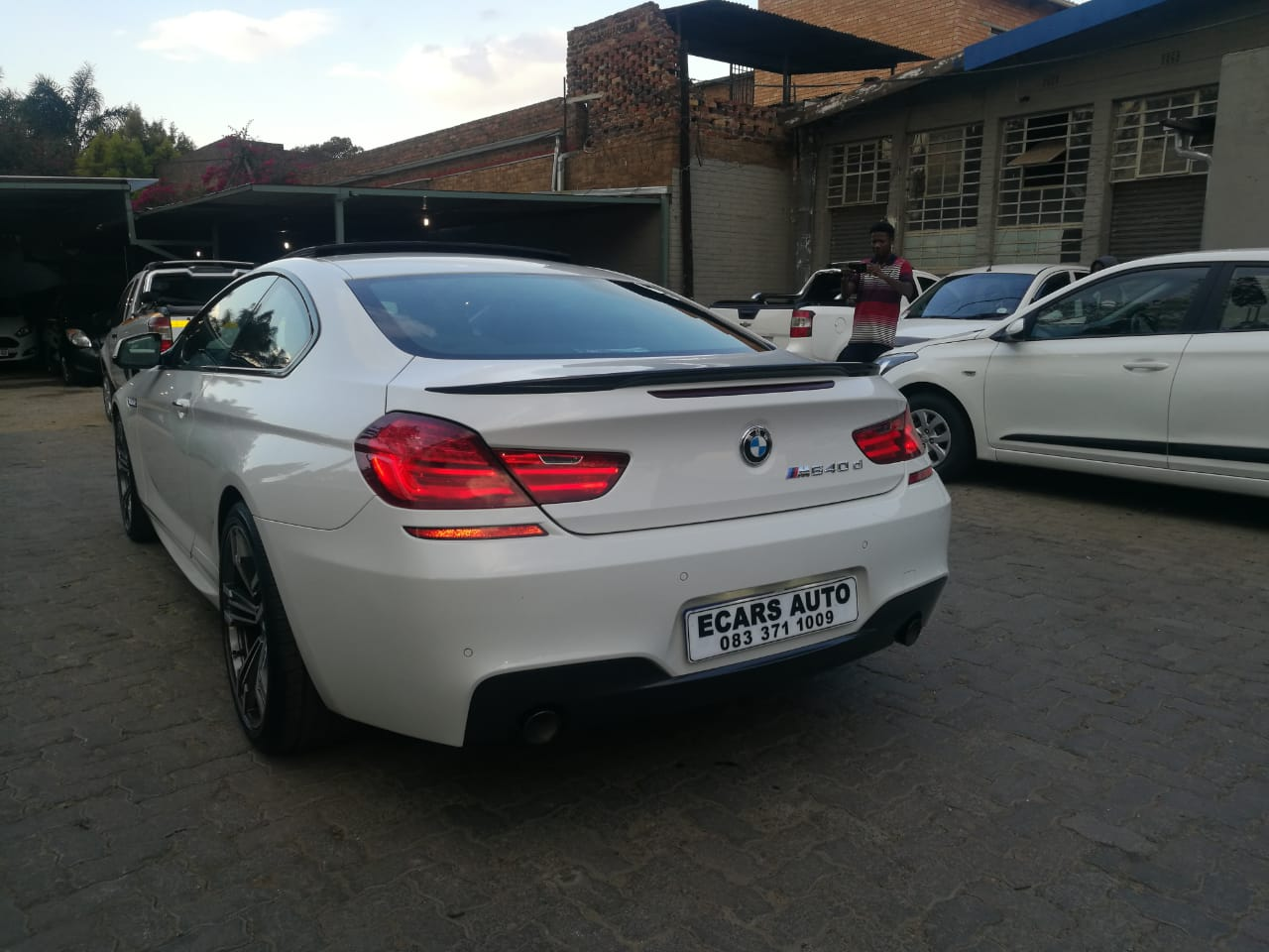 2012 BMW 6 Series coupe 640D COUPE (F13)