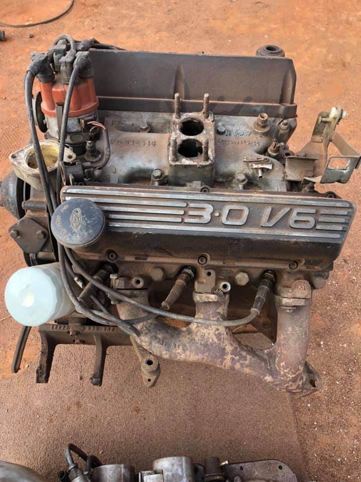 Ford V6 motor and auto box. New spec motor.