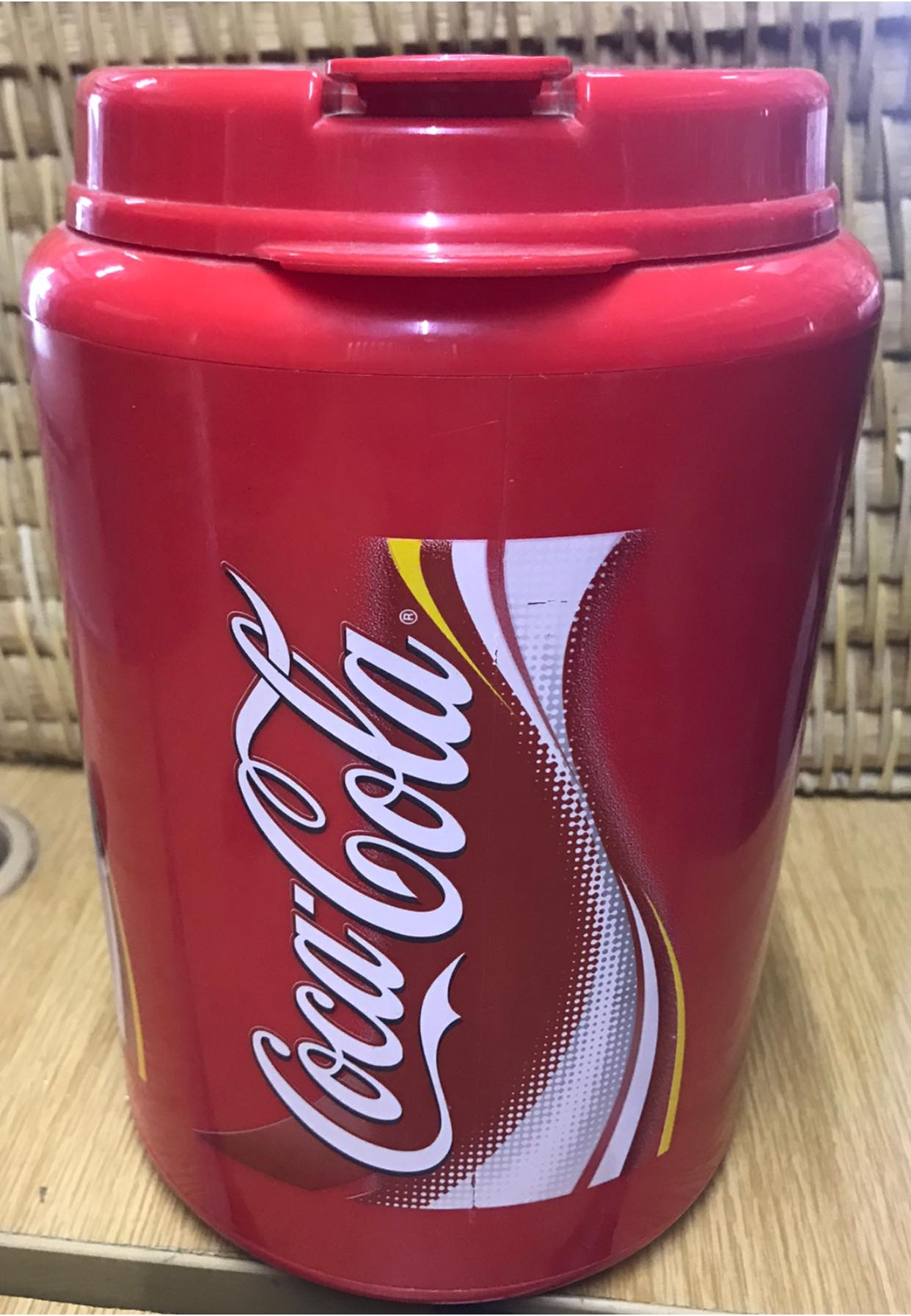 Coca Cola Cold Water Jug